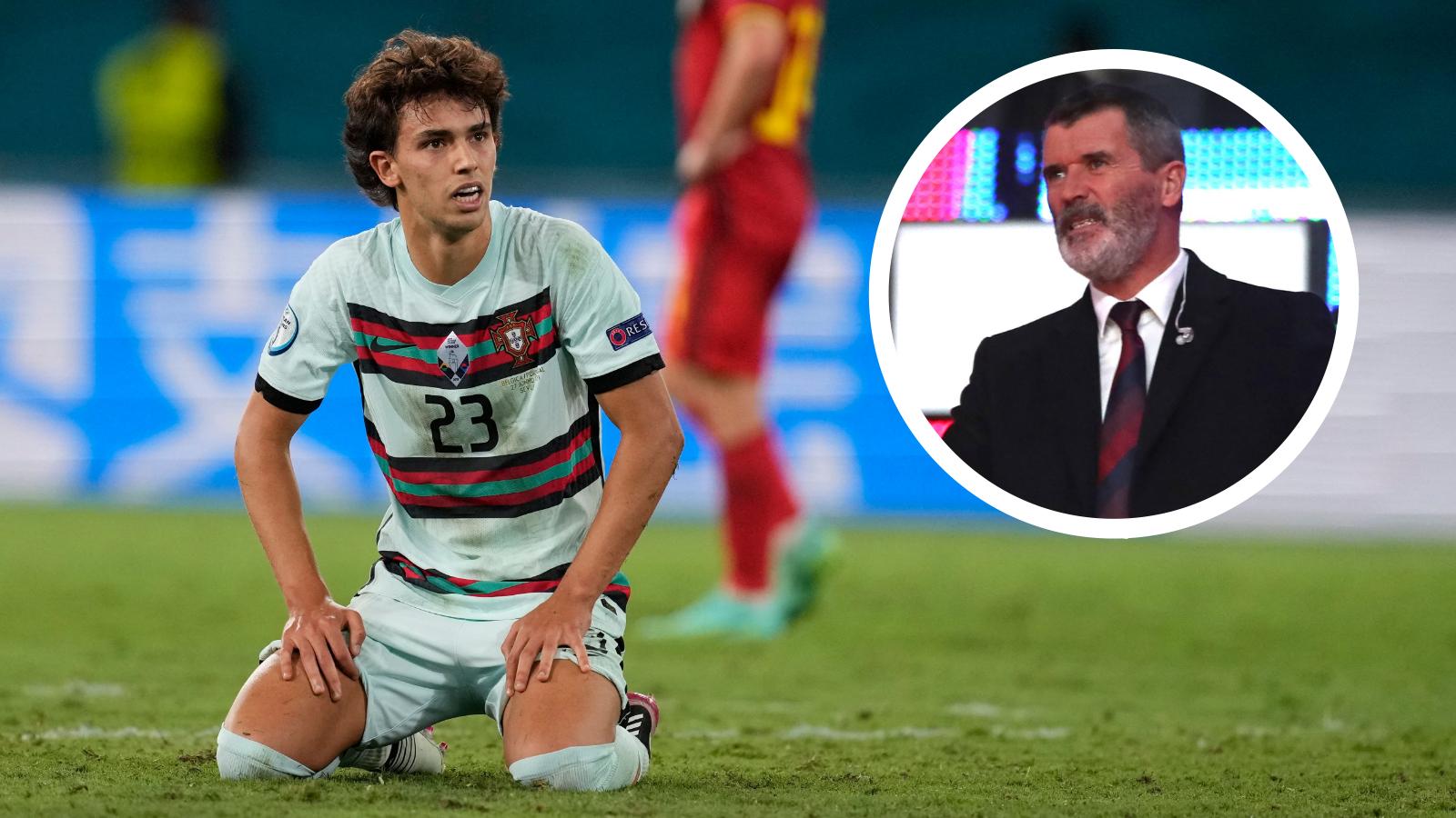 Keane labels Portugal star Felix 'imposter' after Euro 2020 elimination