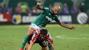 Felipe Melo e Hudson - Palmeiras x São Paulo - 8/03/2018