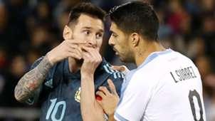 Messi Suarez Argentina Uruguai 18 11 2019