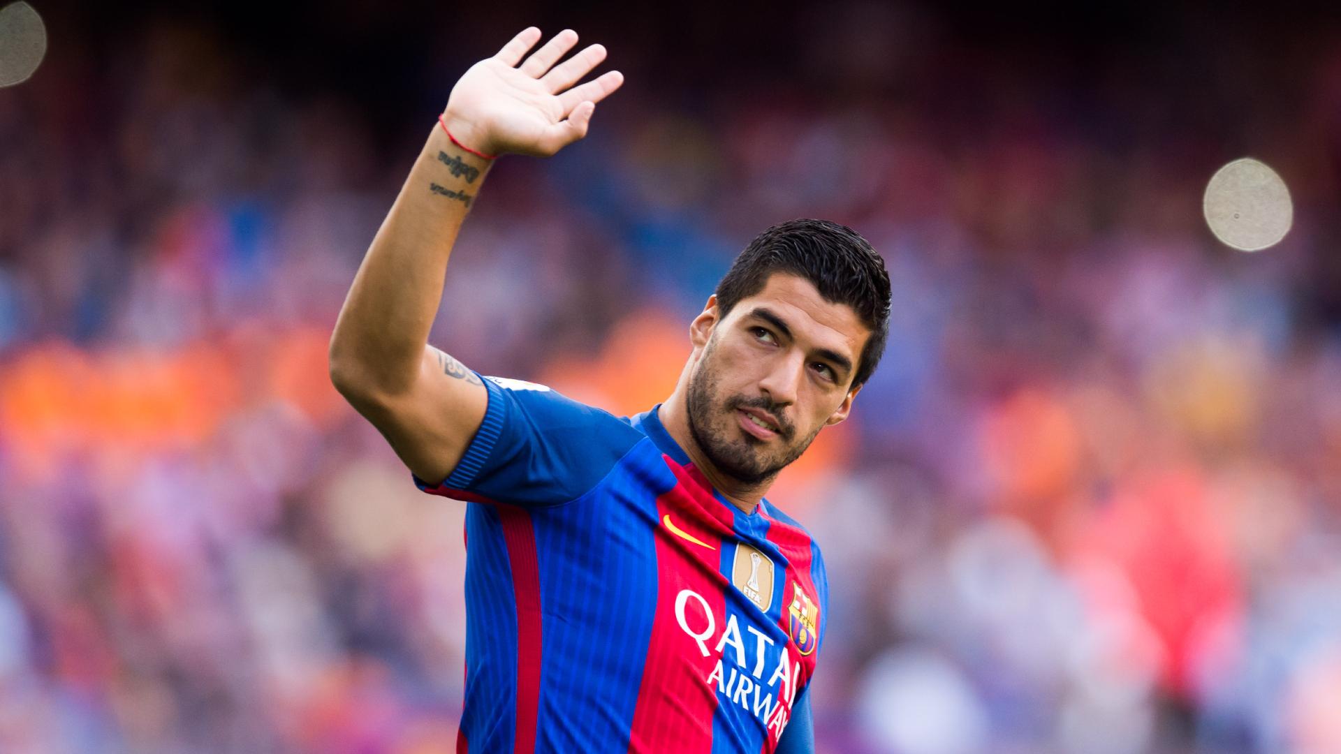 Vidéo - Luis Suarez a fait ses adieux aux joueurs du FC Barcelone
