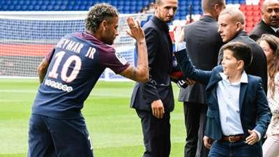 Neymar PSG apresentação 04 08 17