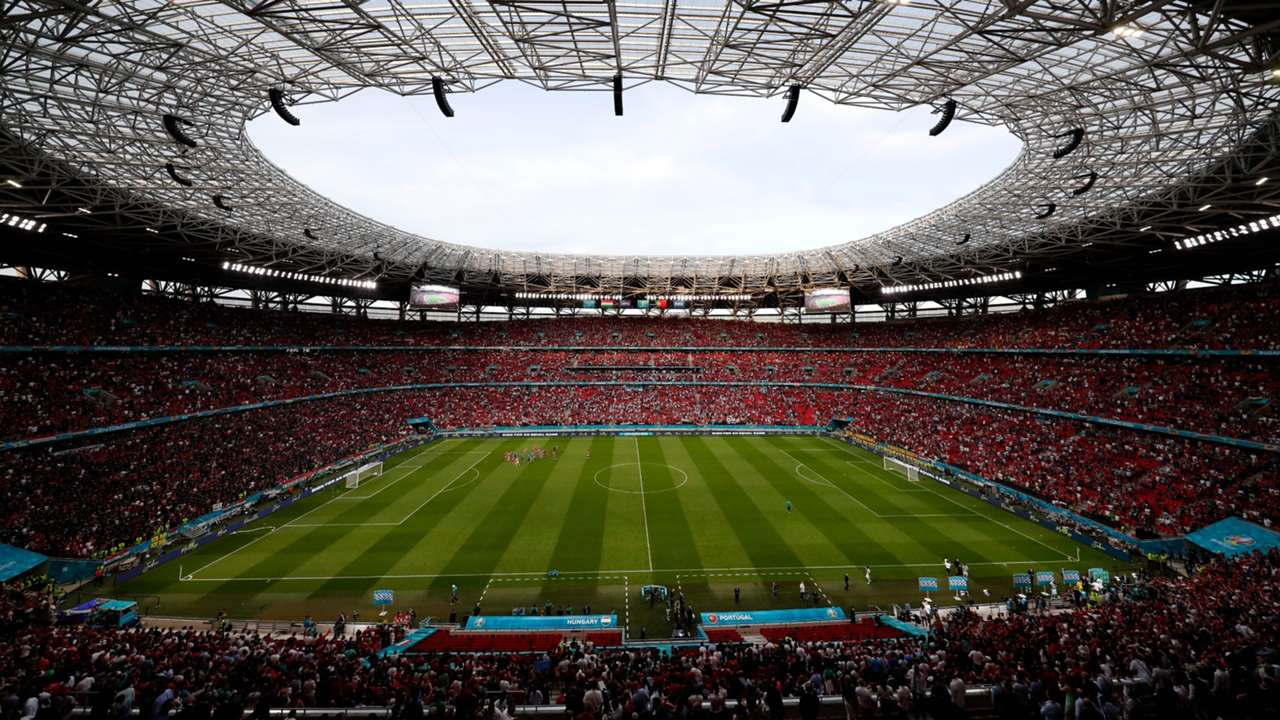 Puskas Arena Budapest Hungary vs Portugal Euro 2020