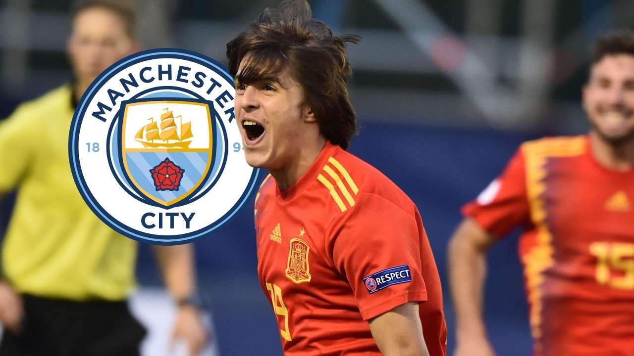 Pablo Moreno Manchester City Spain GFX