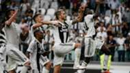Mario Mandzukic Douglas Costa Leoanrdo Bonucci Blaise Matuidi Cristiano Ronaldo Juventus Lazio Serie A 08252018