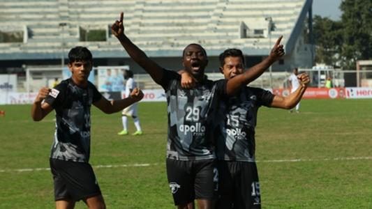 Dipanda Dicka's strike helps Punjab FC pick up full points against Real Kashmir   Goal.com