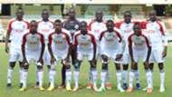 Ulinzi Stars squad against Al Hilal Benghazi