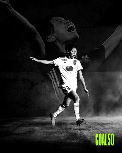 Saki Kumagai Goal 50