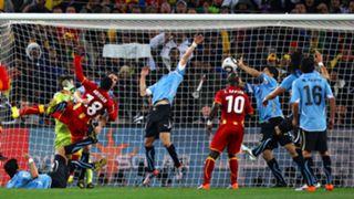 Luis Suarez Uruguay Ghana World Cup 2010