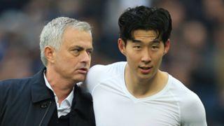 Jose Mourinho Son Tottenham