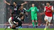 Matteo Guendouzi Wilfried Zaha Arsenal vs Crystal Palace 2019-20