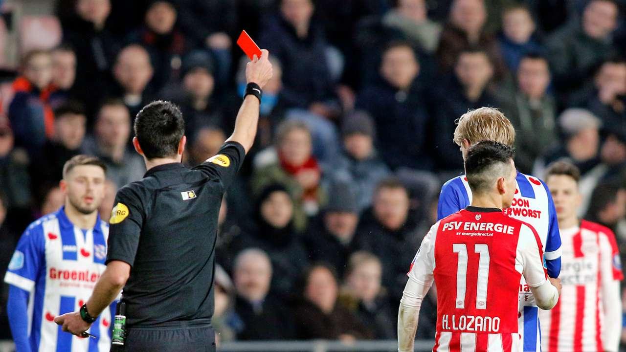 Dennis Higler, Hirving Lozano, PSV - Heerenveen