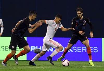 Dani Ceballos Croatia Spain UEFA Nations League