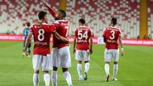 Sivasspor v Trabzonspor Goal Celebration 09232019