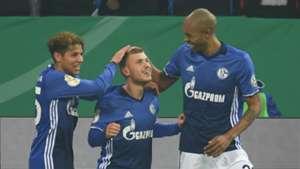Max Meyer Amine Harit Naldo FC Schalke 04 1.FC Köln 19122017