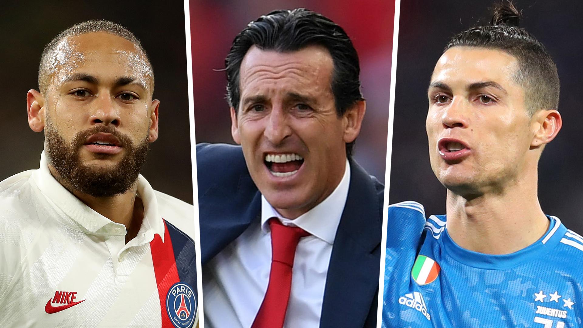 Emery hopes Neymar returns to Spain and wishes Ronaldo had never left