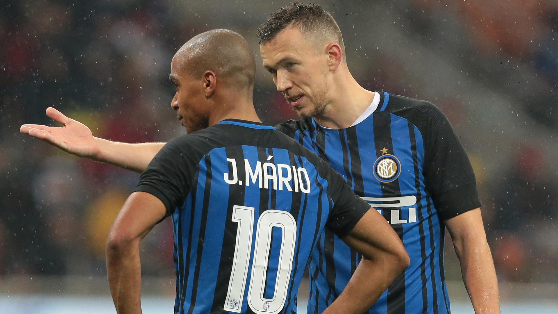 Joao Mario Ivan Perisic Inter