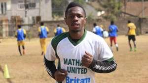Mathare United star Edward Seda
