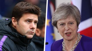 Mauricio Pochettino Theresa May Split