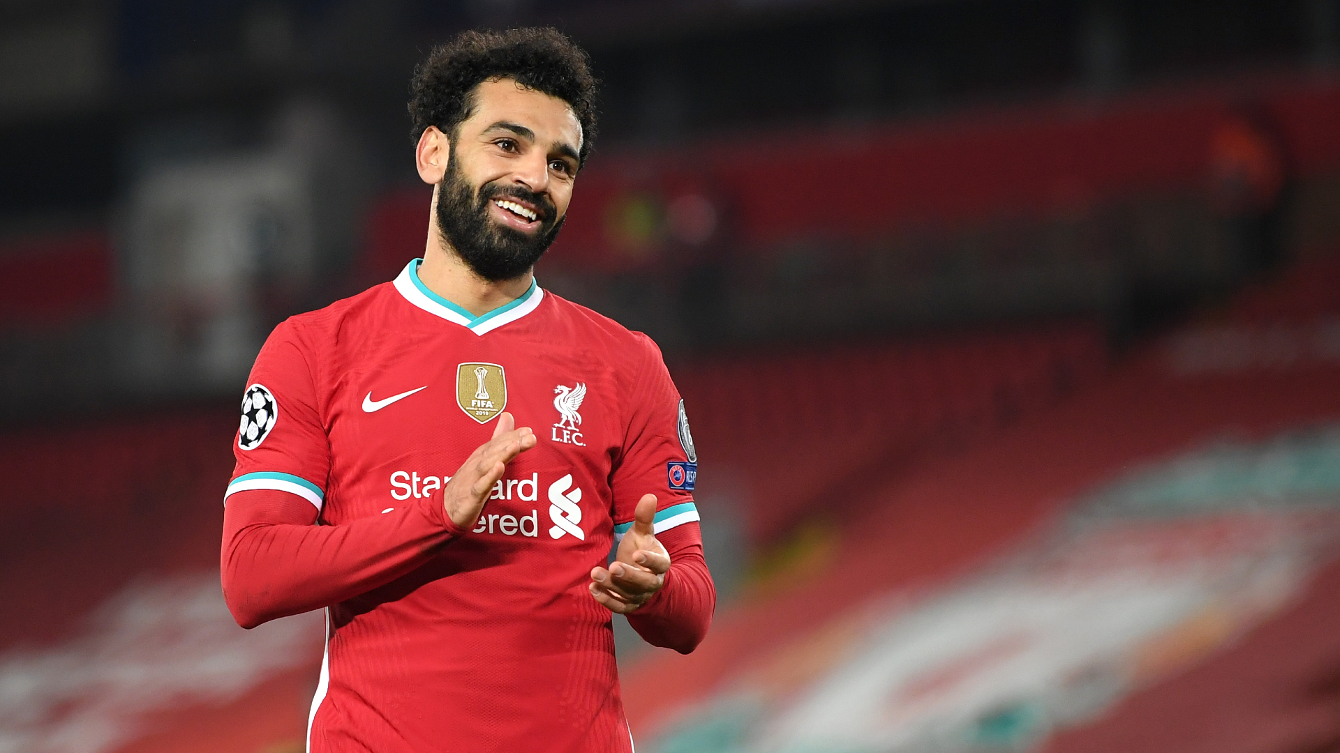 Salah vows to make 'gap bigger' after becoming Liverpool's Champions League record goalscorer