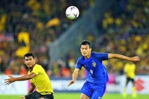 Shahrul Saad, Malaysia, Adisak Kraisorn, Thailand, AFF Championship, 01122018