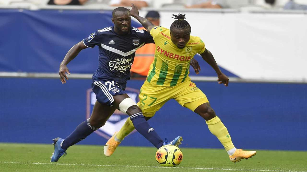 Youssouf Sabaly Moses Simon Bordeaux Nantes Ligue 1 21082020