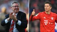 Alex Ferguson Robert Lewandowski