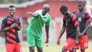 Harambee Stars assistant coach Musa Otieno