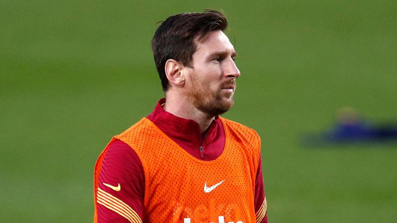 Lionel Messi Barcelona 2020-21