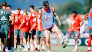James Rodriguez Bayern Munich 2018