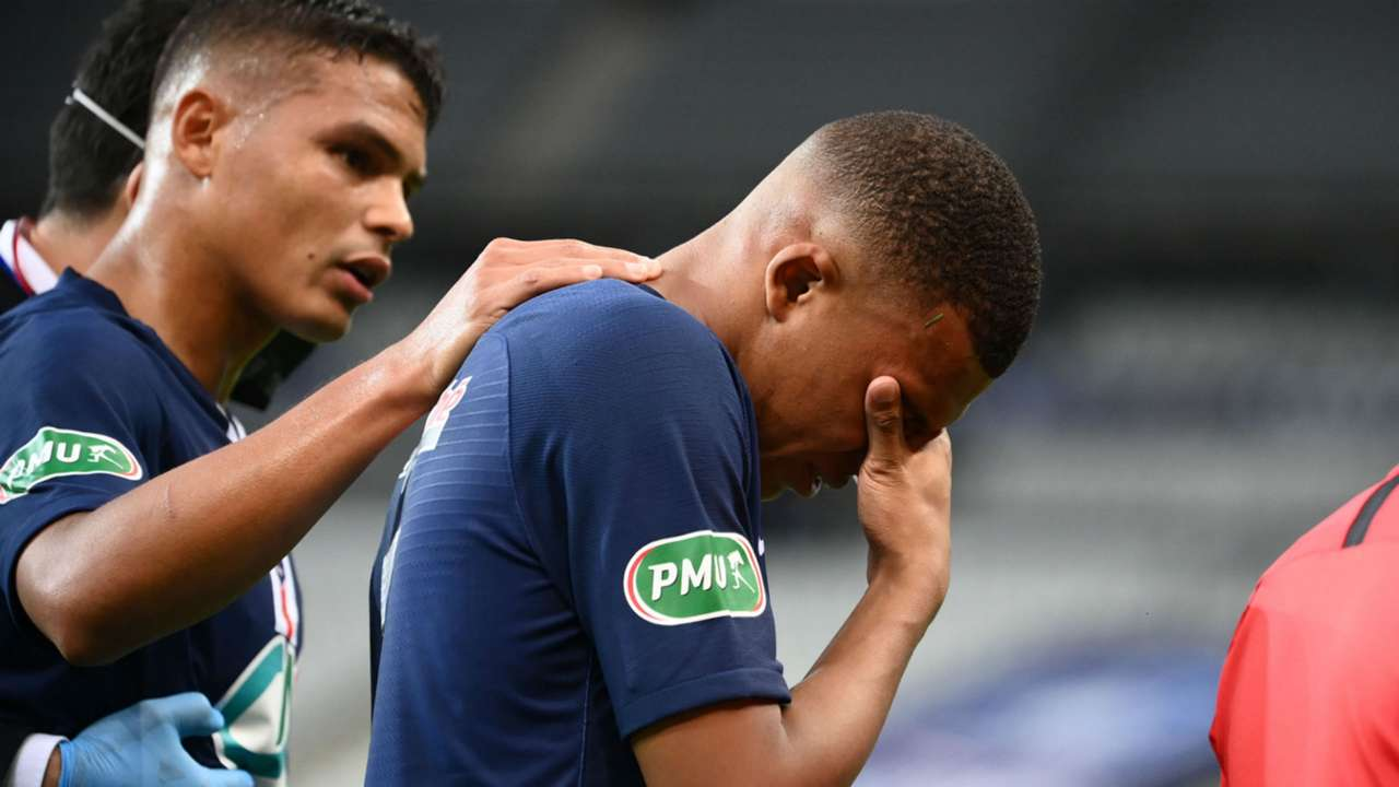 Kylian Mbappe PSG AS Saint-Etienne Coupe de France 24072020