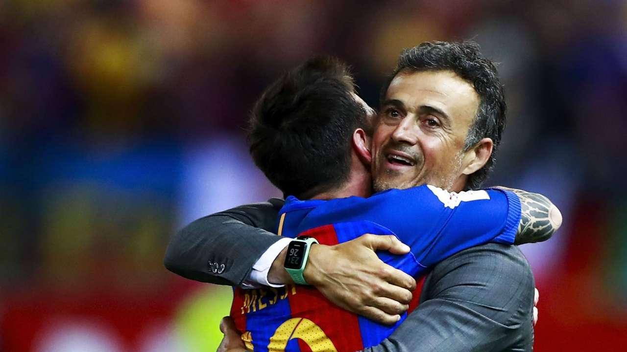 Lionel Messi Luis Enrique Barcelona