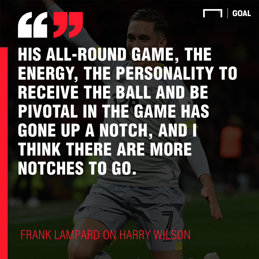 Frank Lampard Harry Wilson 2018/19