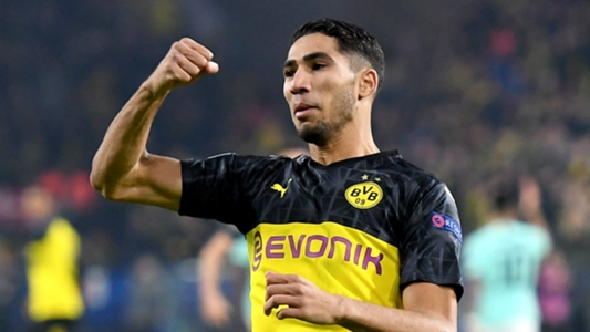 Hakimi named Bundesliga's fastest player since data collection began