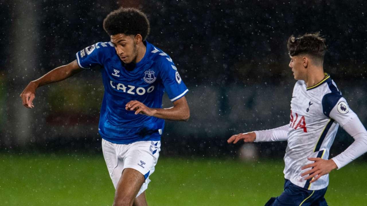Tyler Onyango of Everton.