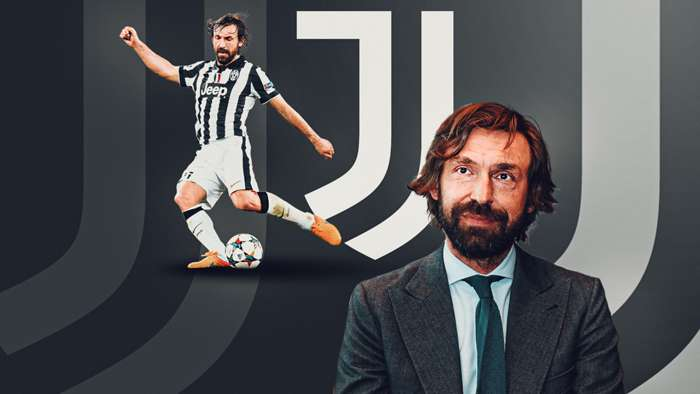 pirlo as juventus manager