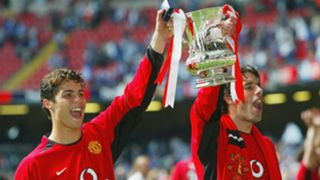 Ronaldo Man Utd Millwall 2004