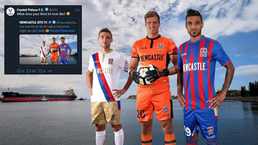 Newcastle Jets Crystal Palace