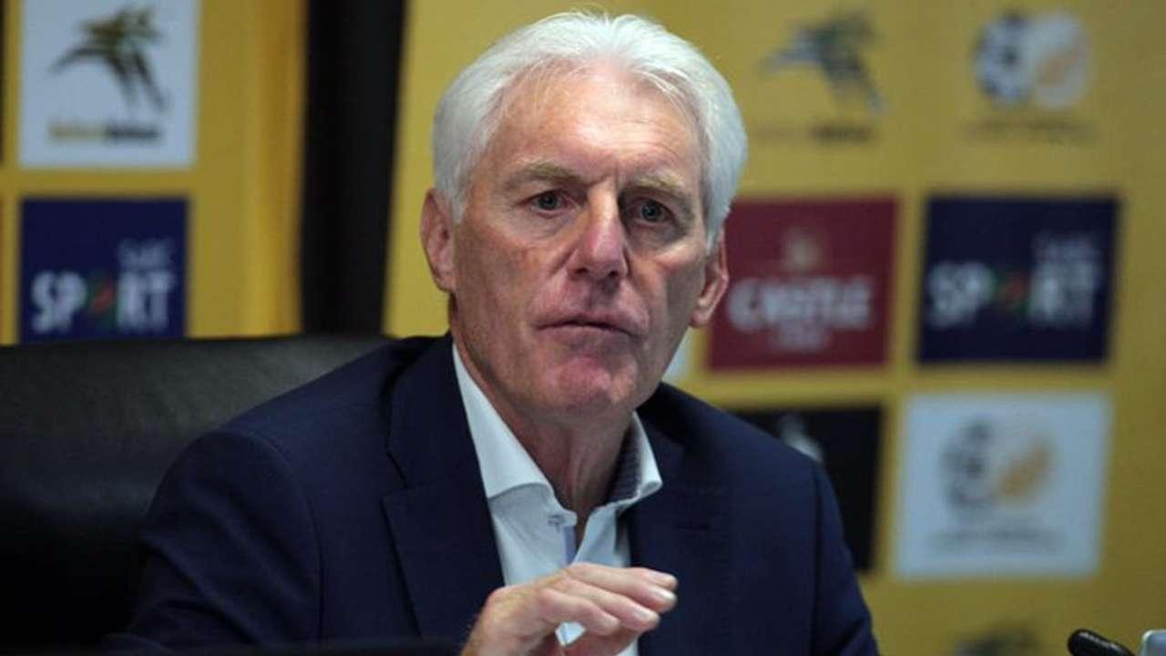 Bafana Bafana head coach Hugo Broos.