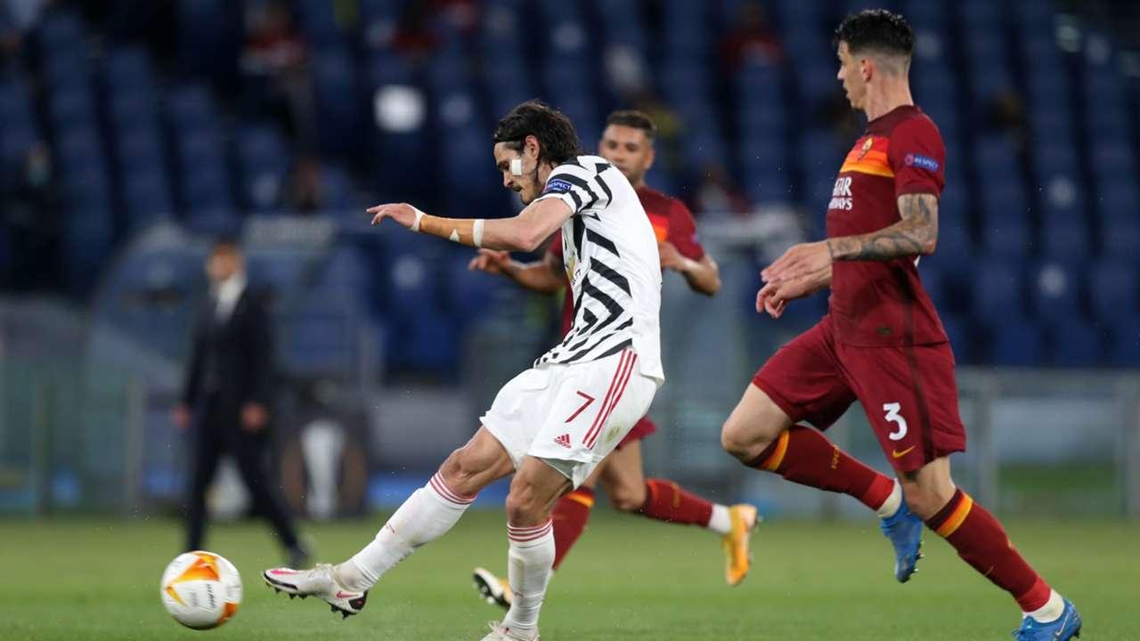 Cavani Roma Manchester United