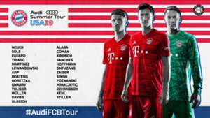 Bayern Munich Tour 2019