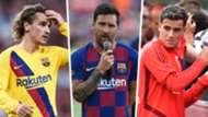 Griezmann Messi Coutinho