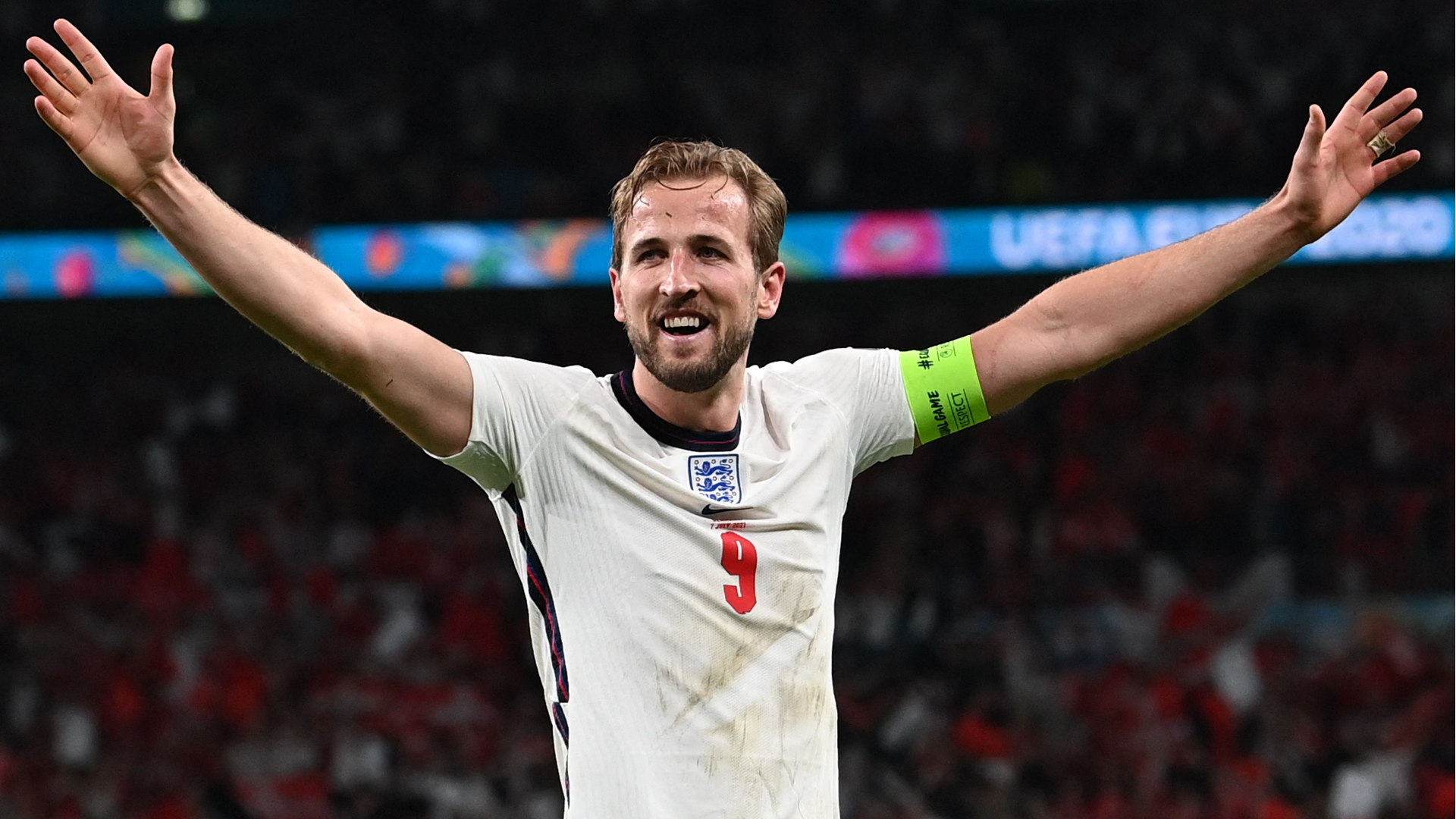 'For once it fell our way' - Kane welcomes penalty 'bonus' in firing England to Euro 2020 final