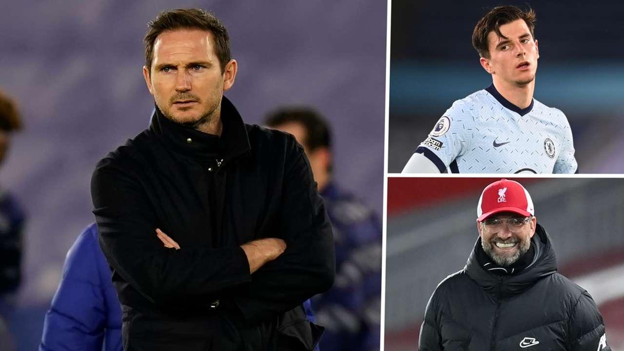 Frank Lampard Jurgen Klopp Chelsea Leicester GFX
