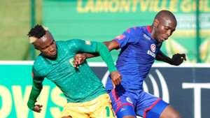 Kudakwashe Mahachi, Golden Arrows & Aubrey Modiba, SuperSport United
