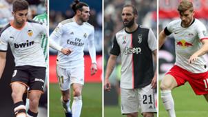 Ferran, Bale, Higuaín, Werner