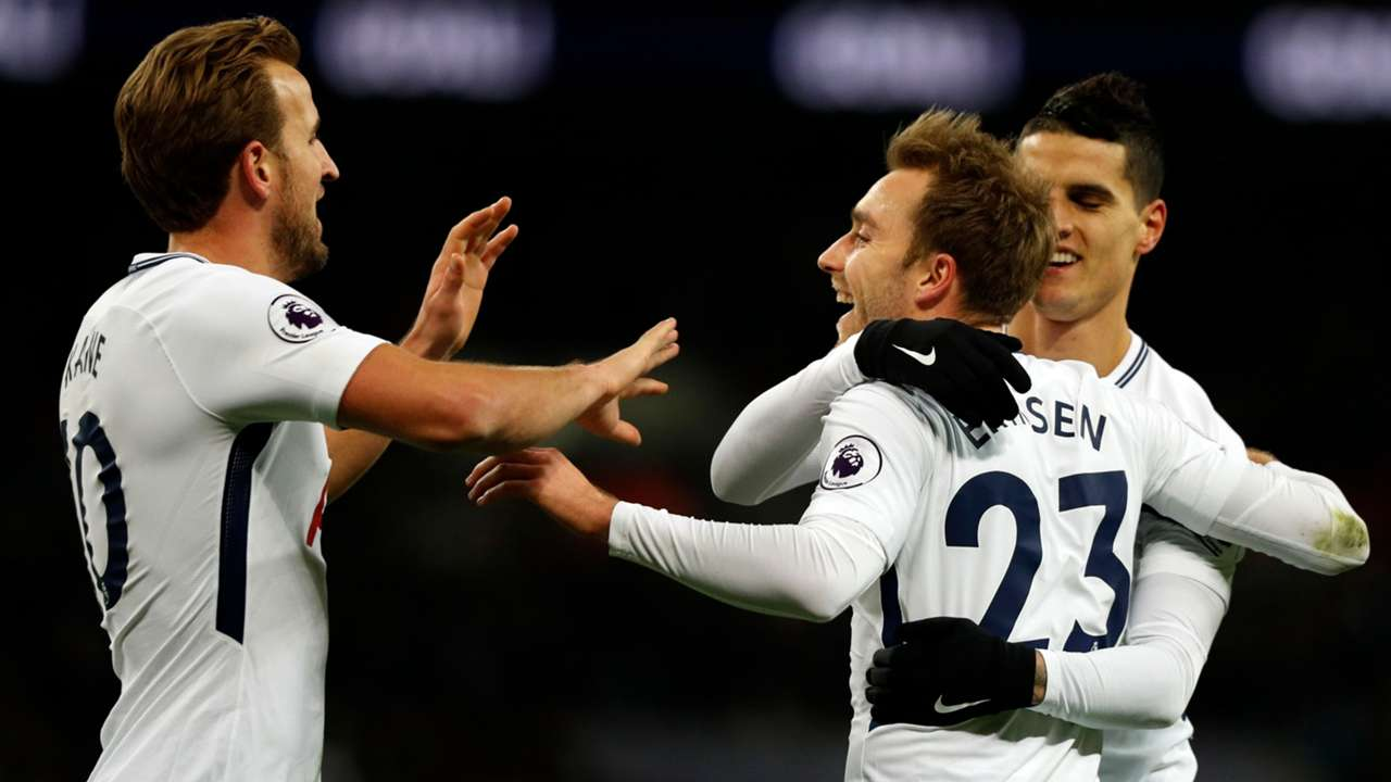 Kane, Eriksen, Lamela, Tottenham