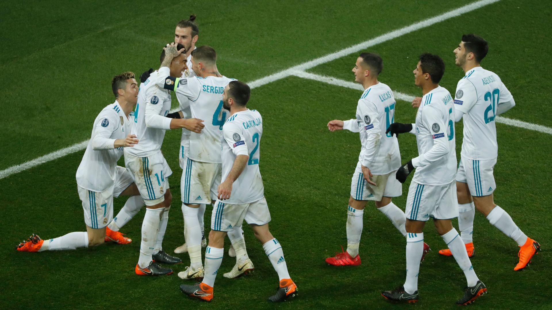 Real Madrid PSG Champions League 0318