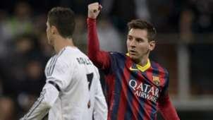 Lionel Messi Cristiano Ronaldo Barcelona Real Madrid 2013-14