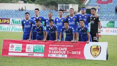 Quảng Nam V.League 2018