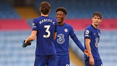Marcos Alonso Callum Hudson-Odoi Chelsea 2020-21